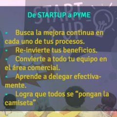 DE STARTUP A PYME