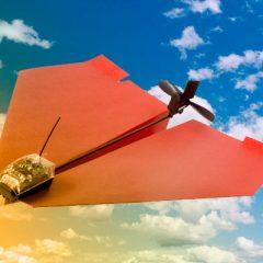 DRONES DESECHABABLES DE MAYOR ALCANCE