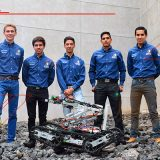 ROBOT MEXICANO AYUDA EN LABORES DE RESCATE