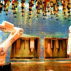 TIPSY, EL NUEVO ROBOT CANTINERO QUE ATIENDE EN LAS VEGAS