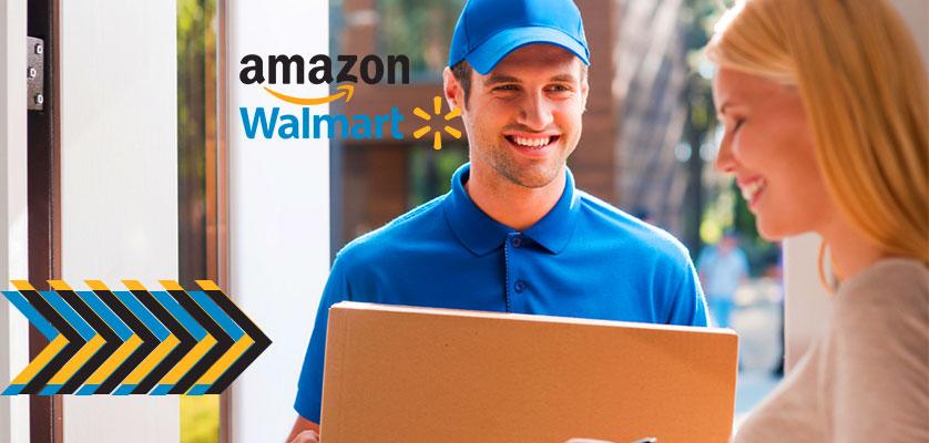 Amazon y Walmart