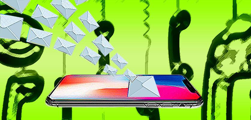 Llamada telefónica, correo electrónico