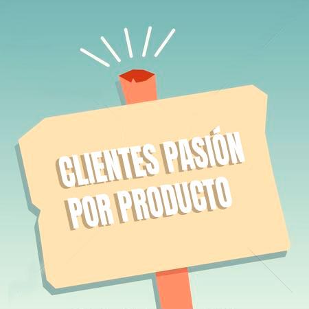 PALABRA CLAVE (keyword SEO) Clientes pasión por producto