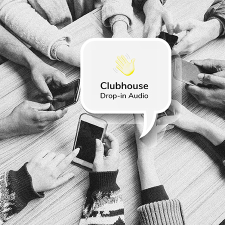 Clubhouse marketing clientes