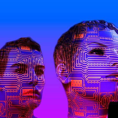Inteligencia artificial imaginación humana